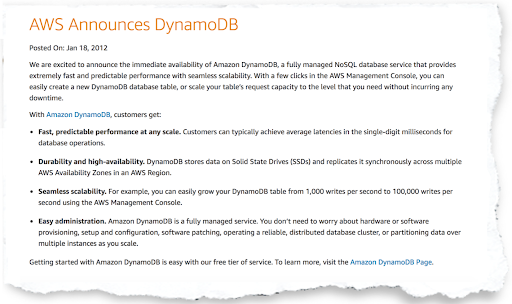 Reasons Why DynamoDB is Not for Everyone - Thinkport